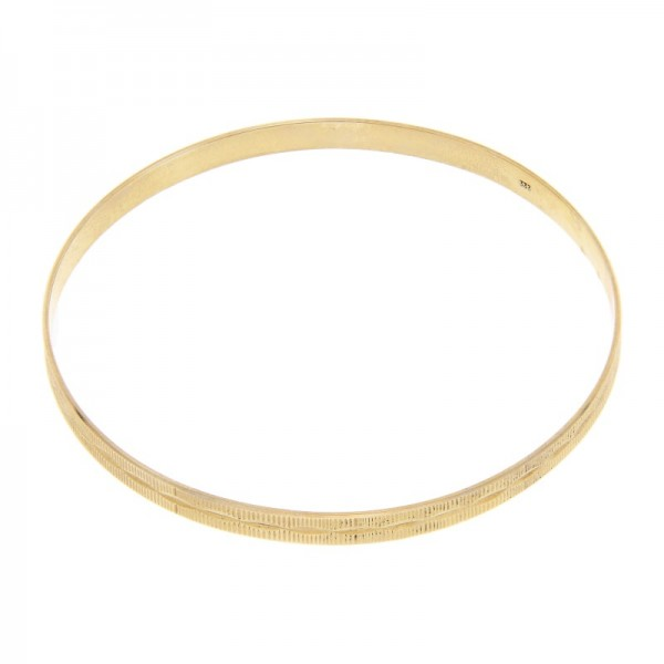 Armreif mit Muster 333 Gold