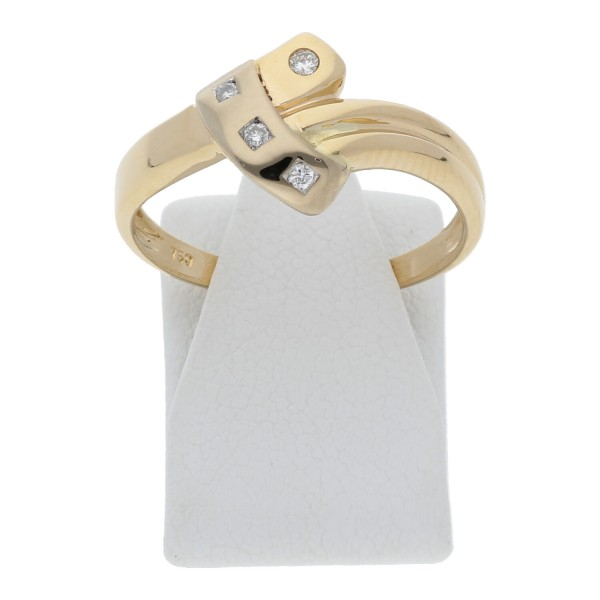 Diamant Ring 0,08 ct 750 Gold