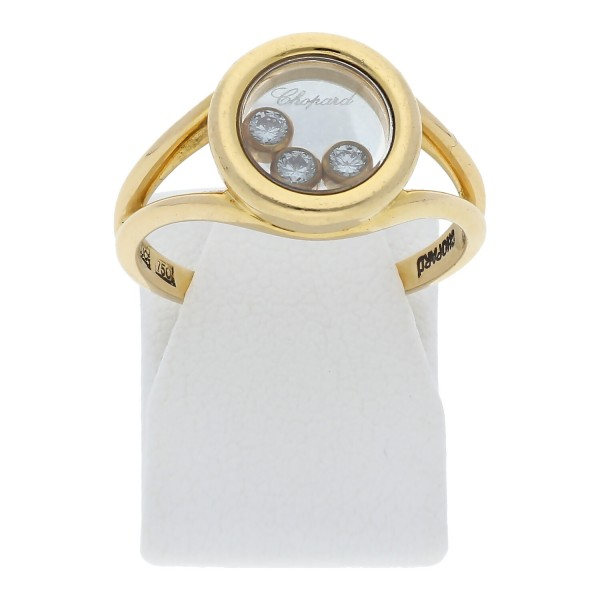 Ring 750 - 18 Karat Gelbgold Brillanten