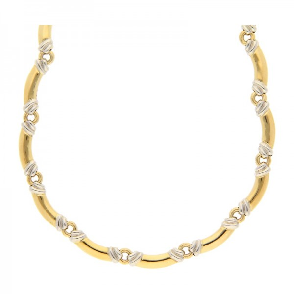 Chimento Collier 750 Bicolor Gold