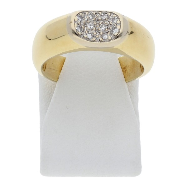 Diamant Ring 0,10 ct 585 Gold