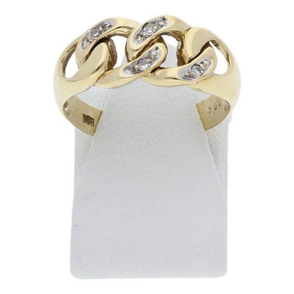 Diamant Ring ca. 0,04 ct 585 Gold