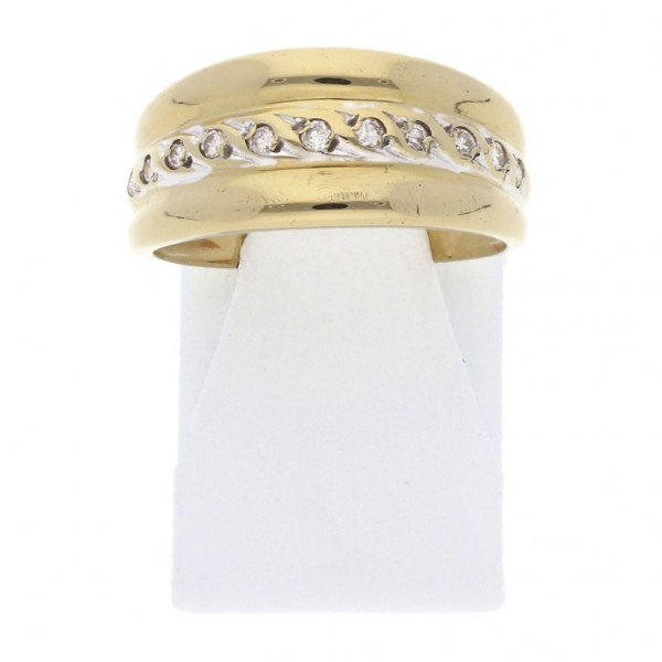 Diamant Ring ca. 0,15 ct 750 Gold