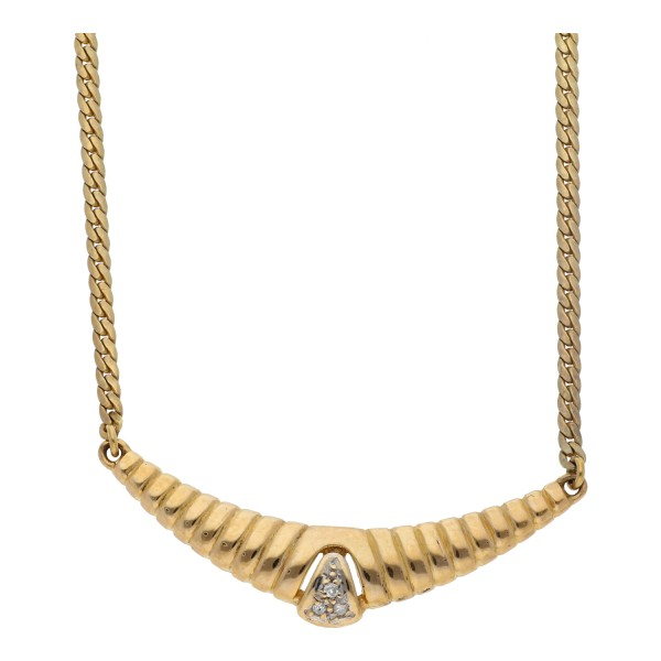Diamant Collier 0,03 ct 585 Gold