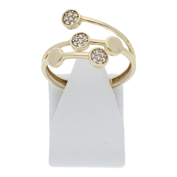 Zirkonia Ring 333 Gold