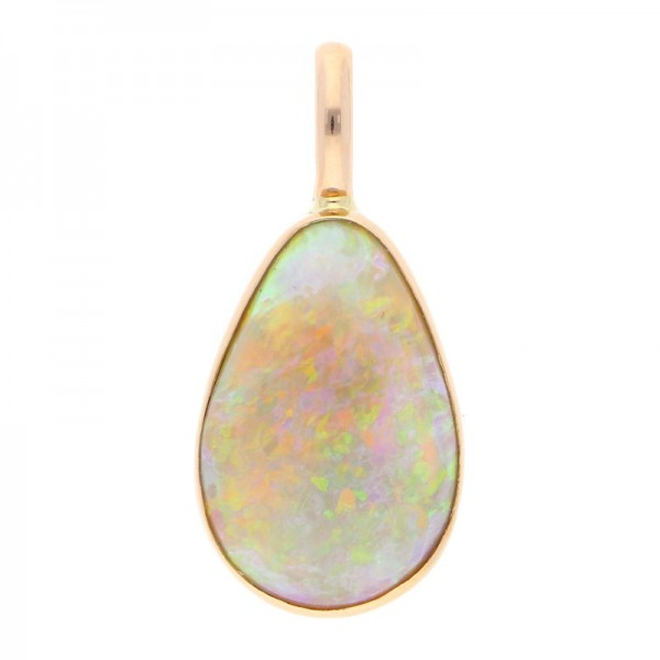Cabochon Opal Anhänger ca. 12,50 ct 750 Gold