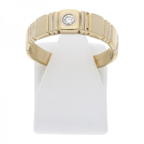 Diamant Brillant Ring 0,06 ct 585 Gold