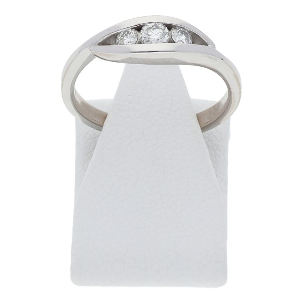 Diamant Brillant Ring Triology 0,20 ct 750 Weißgold
