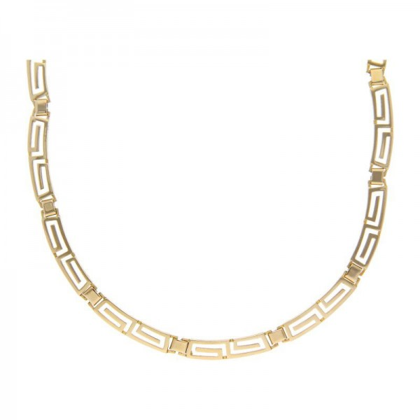 Collier Versace Muster 585 Gold