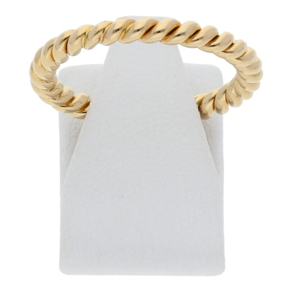 Ring gedrehtes Muster 750 Gold