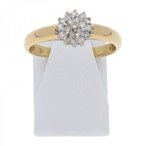 Brillant Ring 0,25 ct 750 Gold
