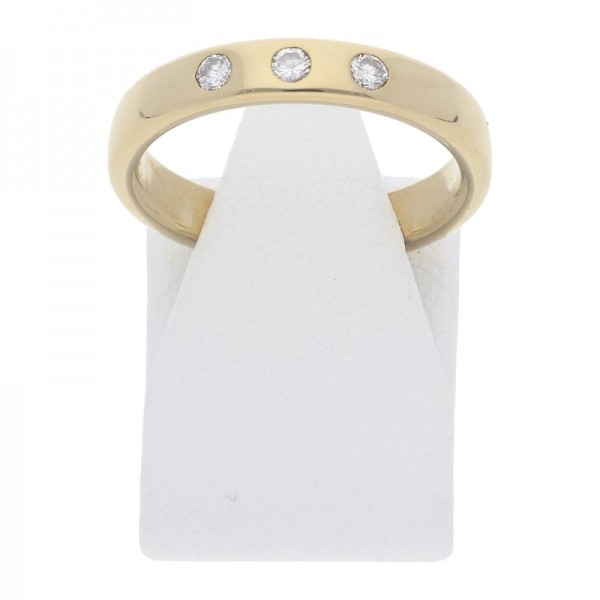Diamant Brillant Ring 750 Gold