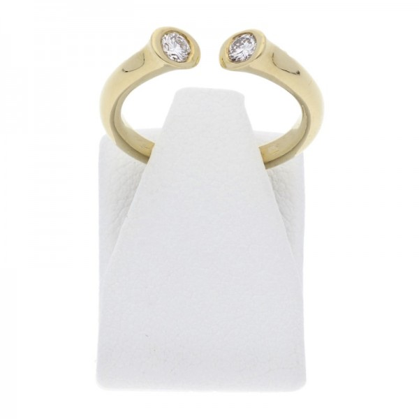 Diamant Brillant Ring 0,27 ct 750 Gold