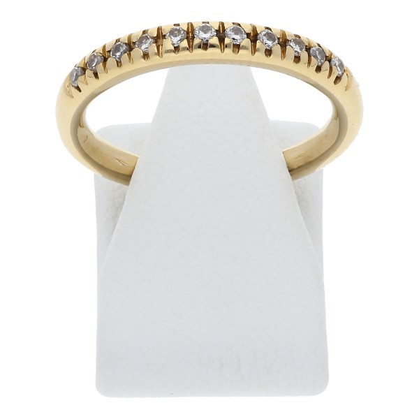 Diamant Ring 0,11 ct 750 Gold