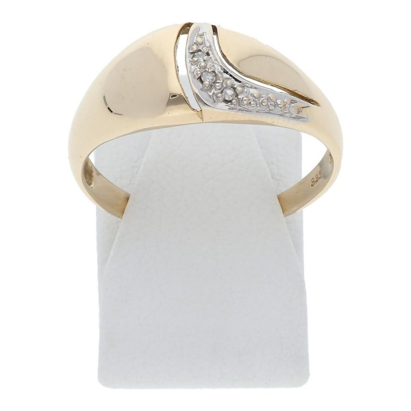 Diamant Ring 333 Gold