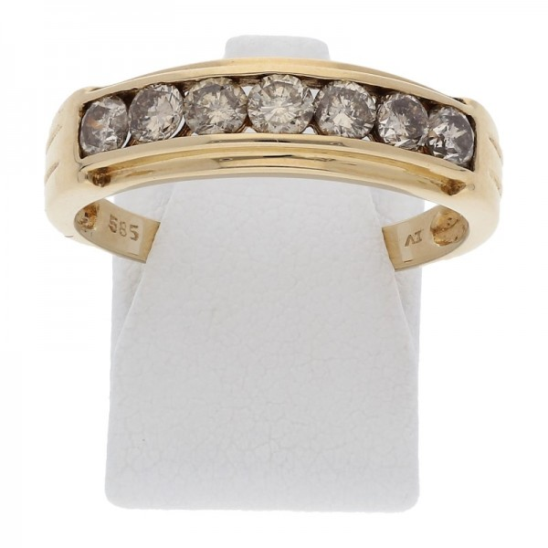 Memory Brillant Ring 1,00 ct 585 Gold