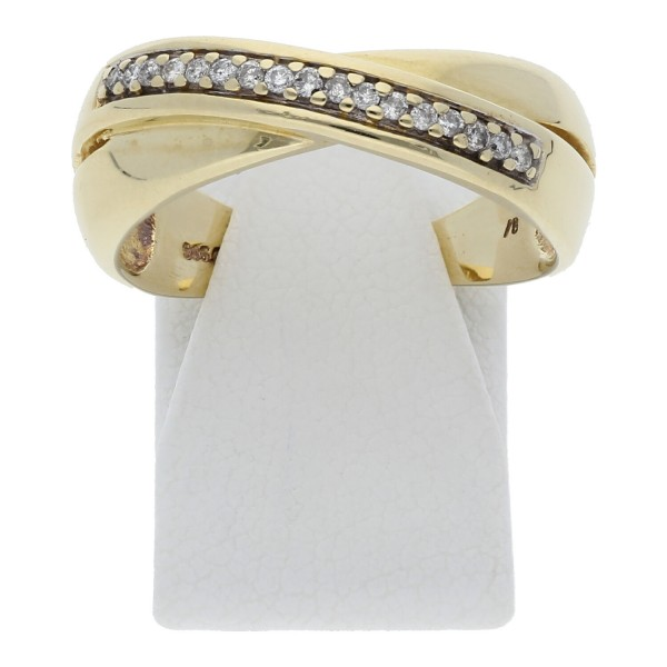 Diamant Brillant Ring 0,35 ct 585 Gold