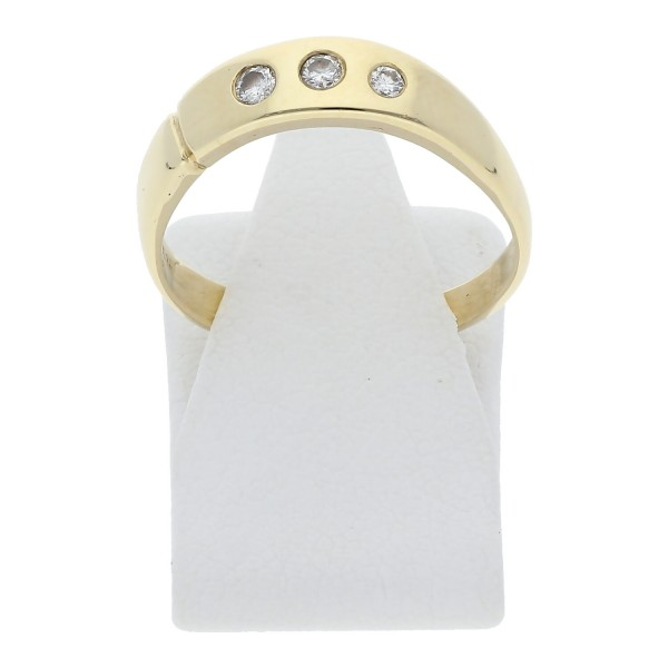 Diamant Ring 585 Gelbgold 0,10 ct